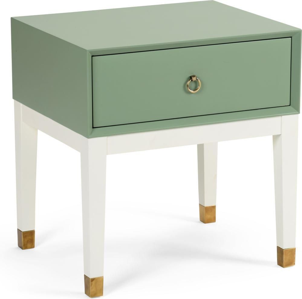 - Albany Side Table - Green Green Accent Table, Side Table, Table
