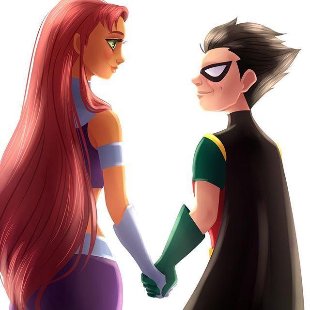 Superhero Holding Hands