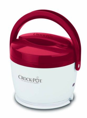 Amazon.com: Crock-Pot SCCPLC200-R 20-Ounce Lunch Crock Food Warmer, Red: Kitchen & Dining