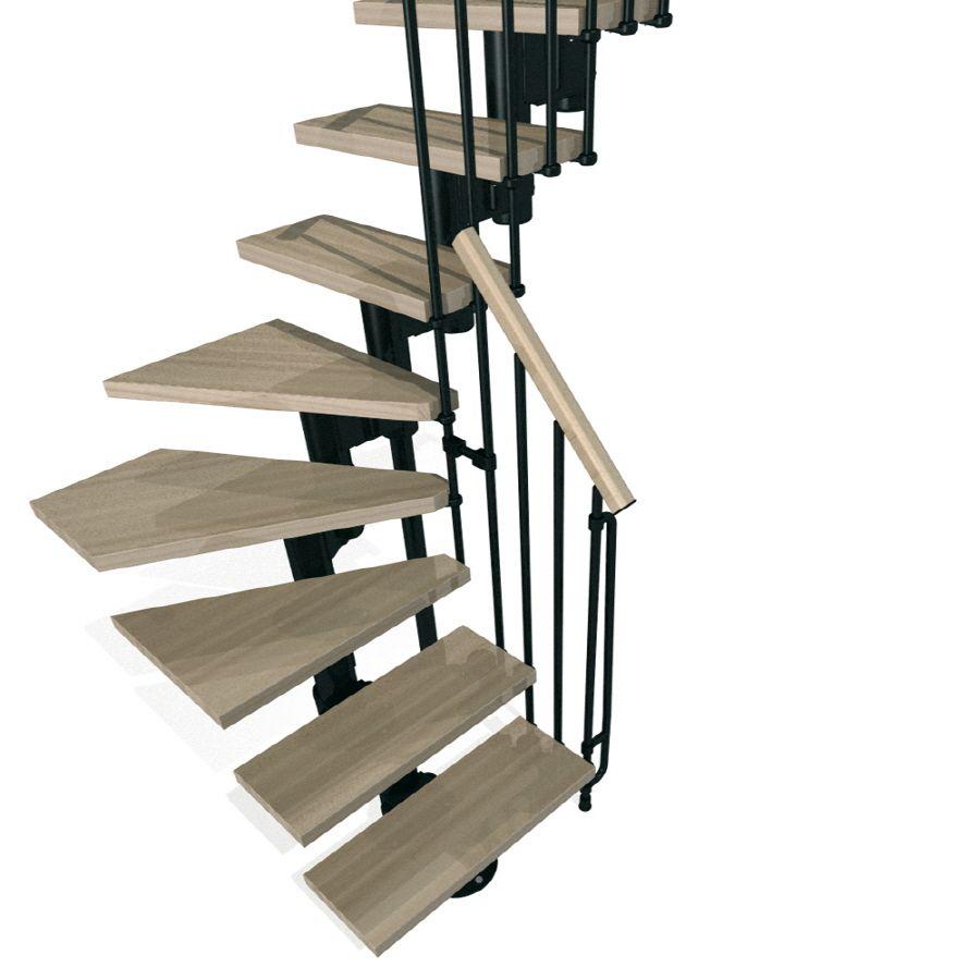 Best Arke Kompact X 9 9 Ft Black Modular Staircase Kit 400 x 300