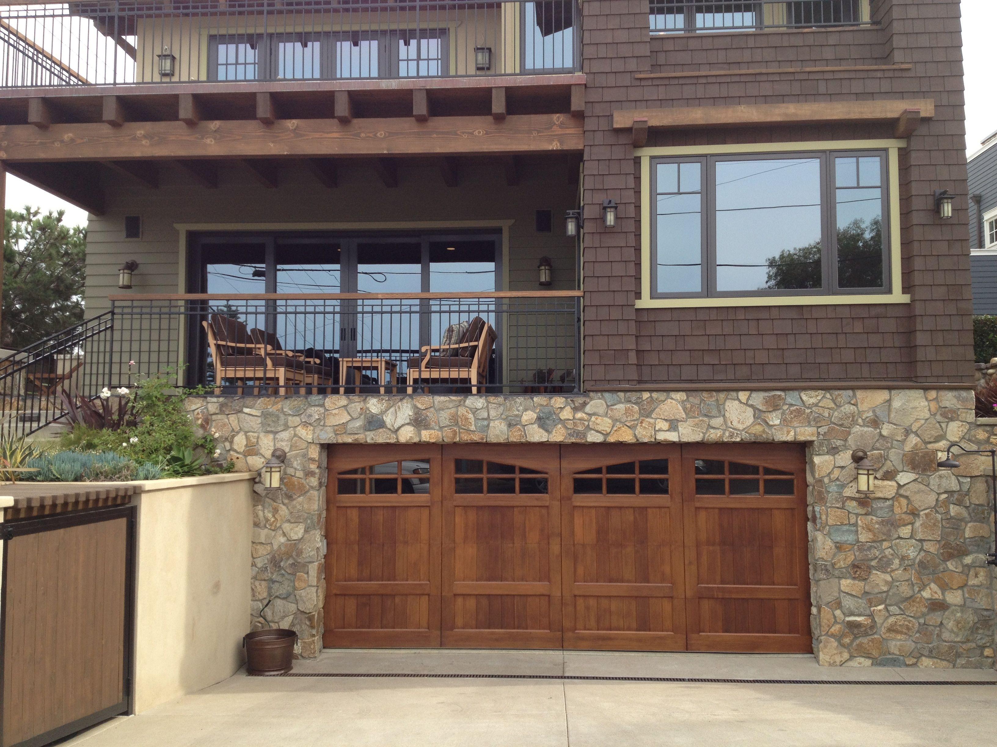 Design Your Door By Castle Improvements In San Diego Garage Doors Garage Door Installation Custom Wood Garage Doors