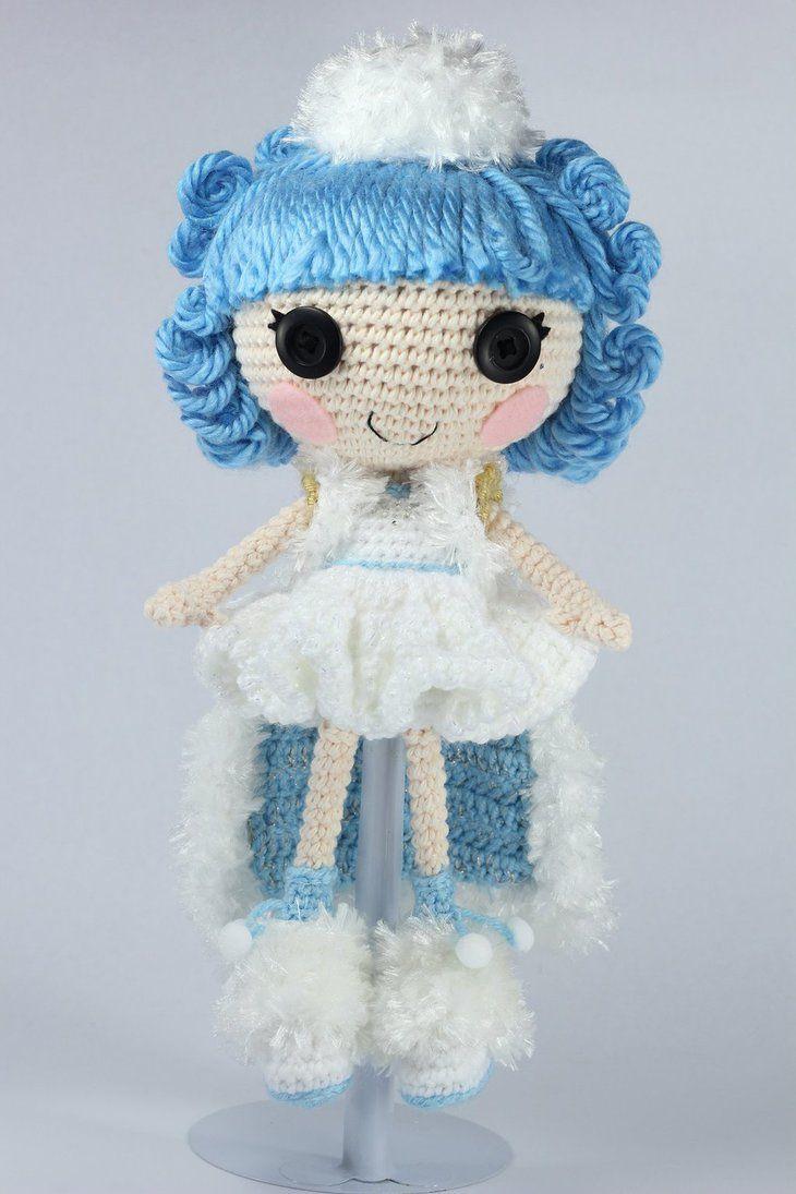 LALALOOPSY Ivory Ice Crystals Amigurumi Doll by Npantz22 ...