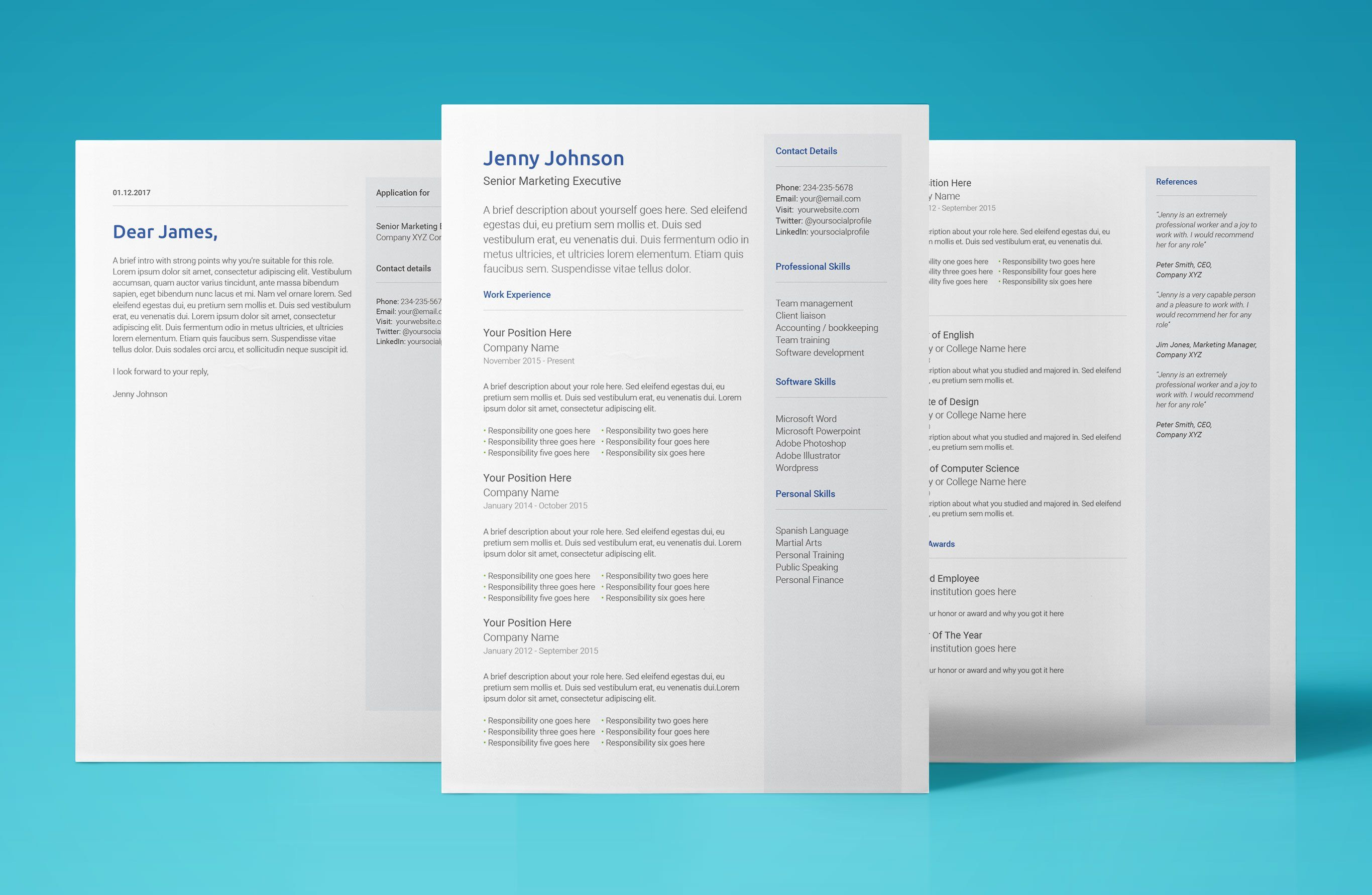 Sample Resume Templates Google Docs in 2020 Downloadable