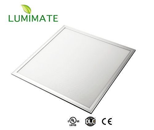 Lumimate 24x24 In 45w Ultra Thin Glare Free Edge Lit 5000k White Daylight ·  Dimmable Led LightsLight PanelDrop Ceiling ...