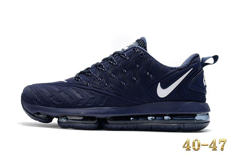 Nike 2019 KPU AIR MAX Sports Shoes Men Navy White 40 47