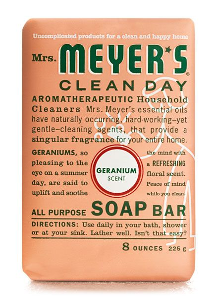 Mrs Meyers Clean Day Geranium Soap Is By Far The Best Mosquito