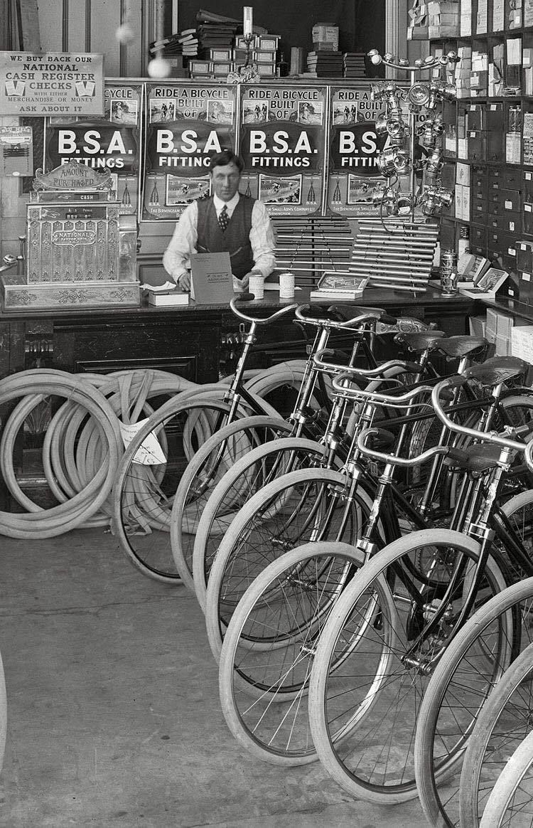 Urbancycling It Christchurch New Zealand 1910 Bicycle Old