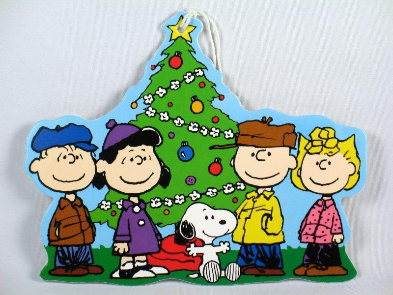 snoopy christmas  Peanuts Gang Christmas Gift Tag Snoopn4pnuts