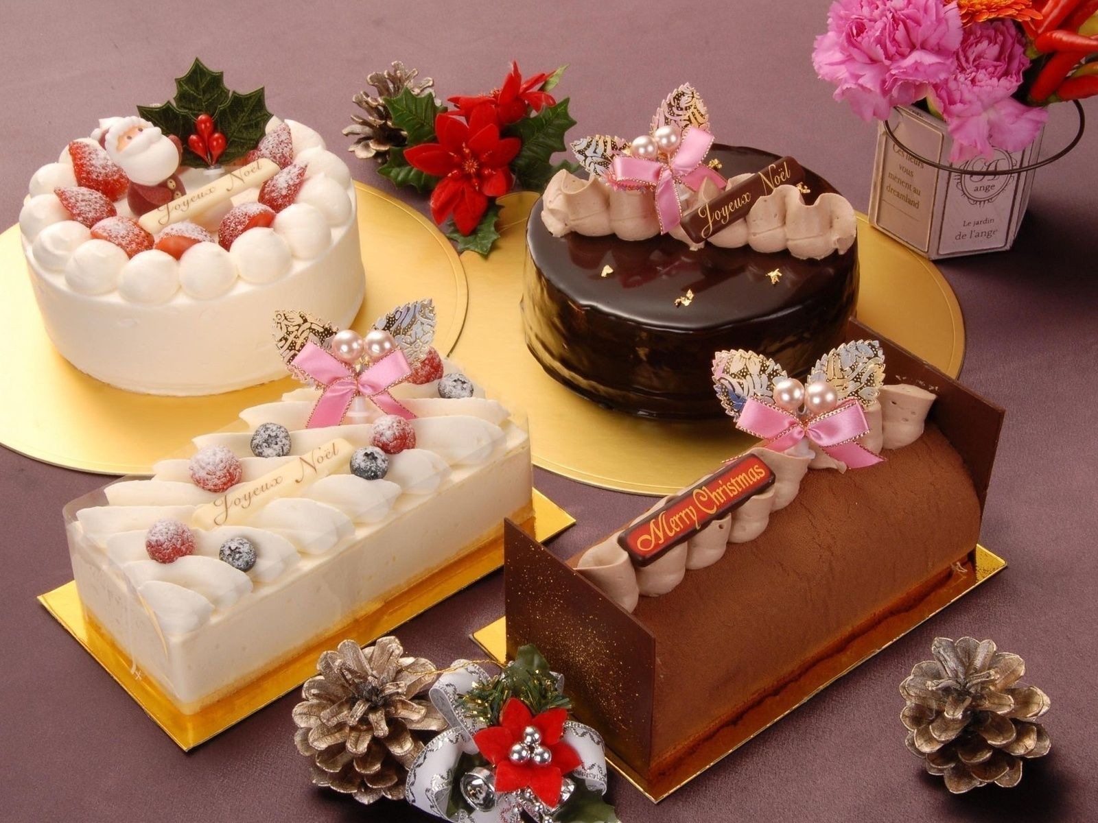 Sweets Holiday Happy New Year Food