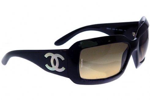 4daeaf6bb22 Black Chanel Sunglasses  3 3
