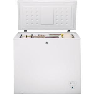 Ge Garage Ready 7 0 Cu Ft Manual Defrost Chest Freezer In White