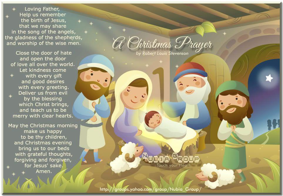 short christmas prayers christmas prayer