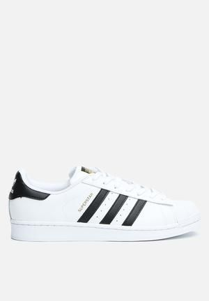 adidas originali superstar fondazione scarpe white & scarpe nere