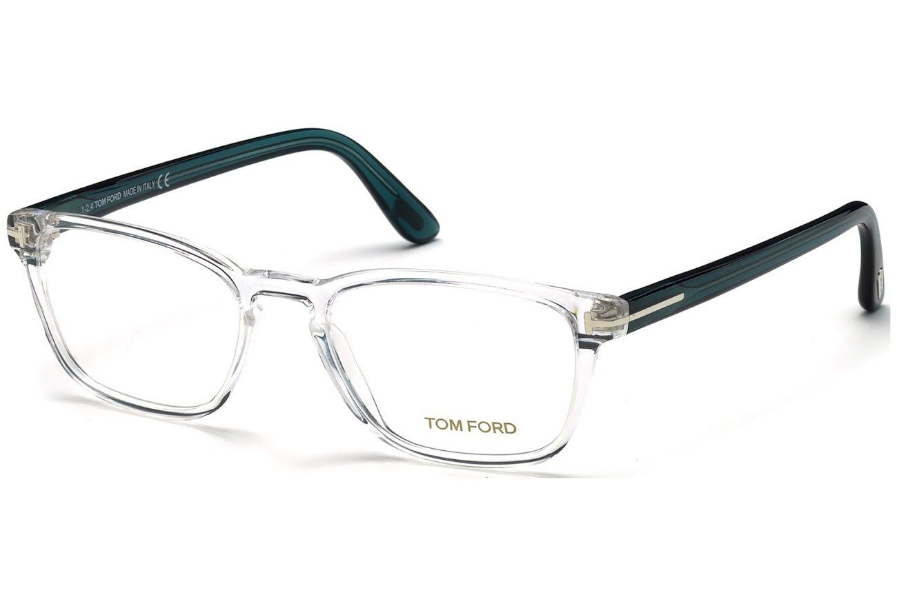 eca564bde9 Amazon.com  TOM FORD FT 5355 Eyeglasses 026 Crystal  Clothing