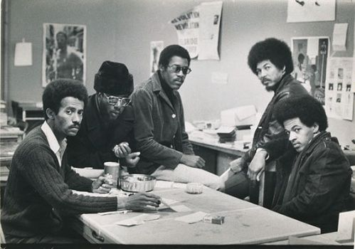 BLACK PANTHERS by GORDON PARKS