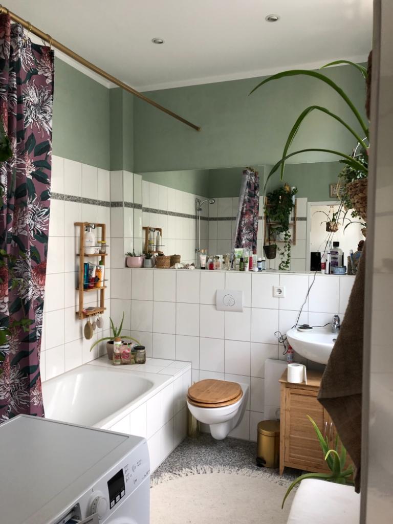 Liebevoll Gestaltetes Badezimmer In Neukolln Badezimmer Gestalten Wohnung Badezimmer Sweet Home Alabama