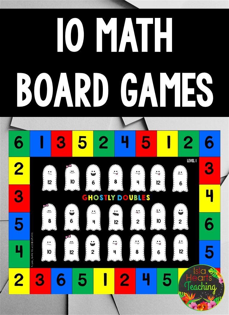 10 Math Board Games For Elementary School Addition Games Math Board Games Subtraction