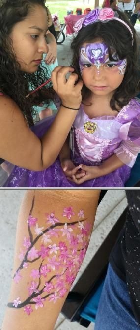 Find some of the most artistic face painting artists at Selina's Face Painting and Body Art. They are available for adult and kids' parties, festivals, special events, and fundraisers.