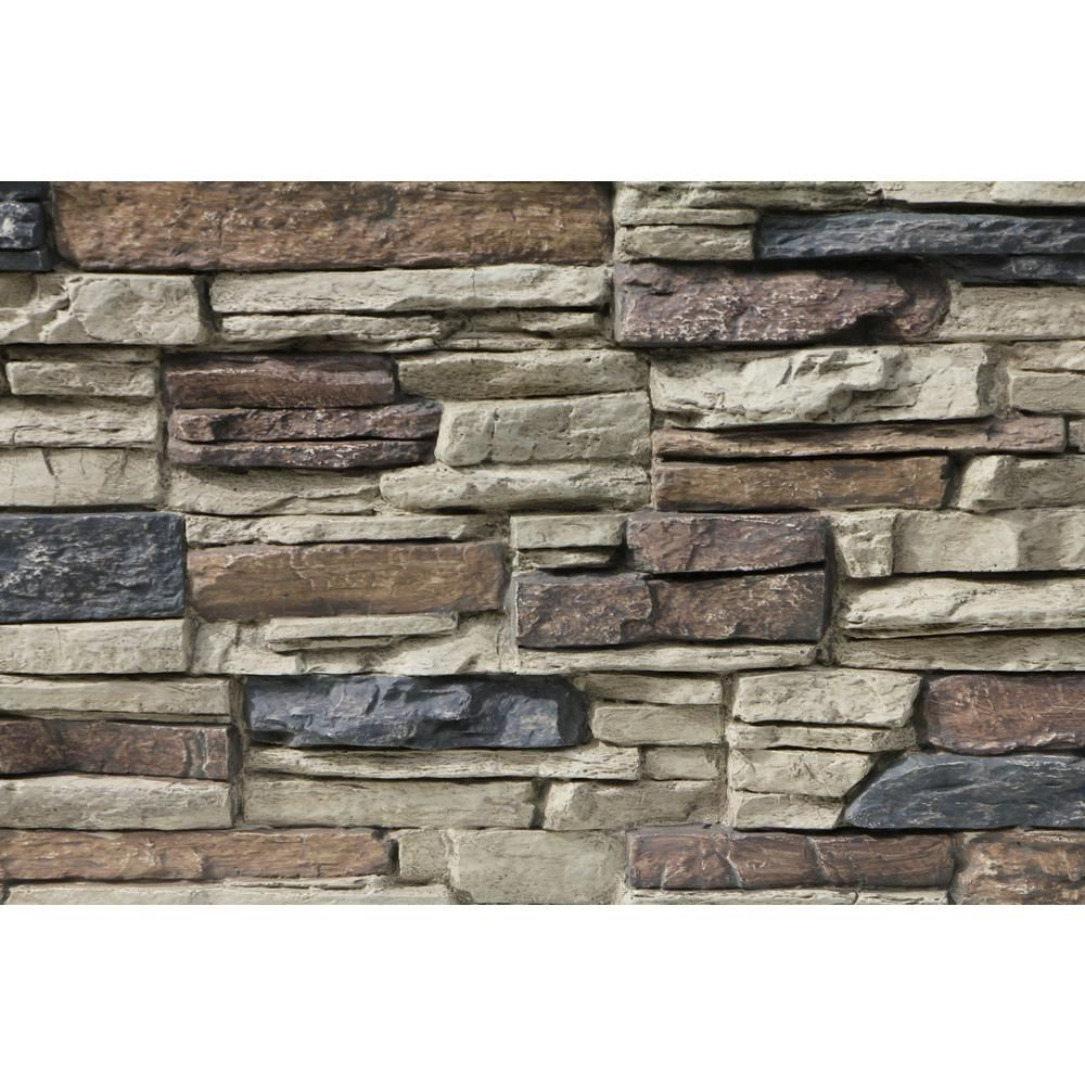 Tritan Bp Tritan Bp Faux 48 In X 24 In Class A Fire Rated Urethane Interlocking Stack Stone Panel In Nature Spirit Lr 4824 Nst The Home Depot In 2020 Stone Exterior Houses