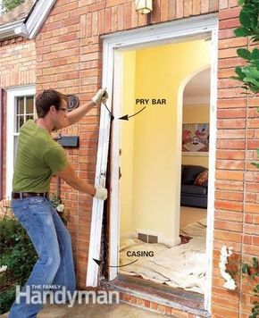 How To Replace An Exterior Door Installing Exterior Door