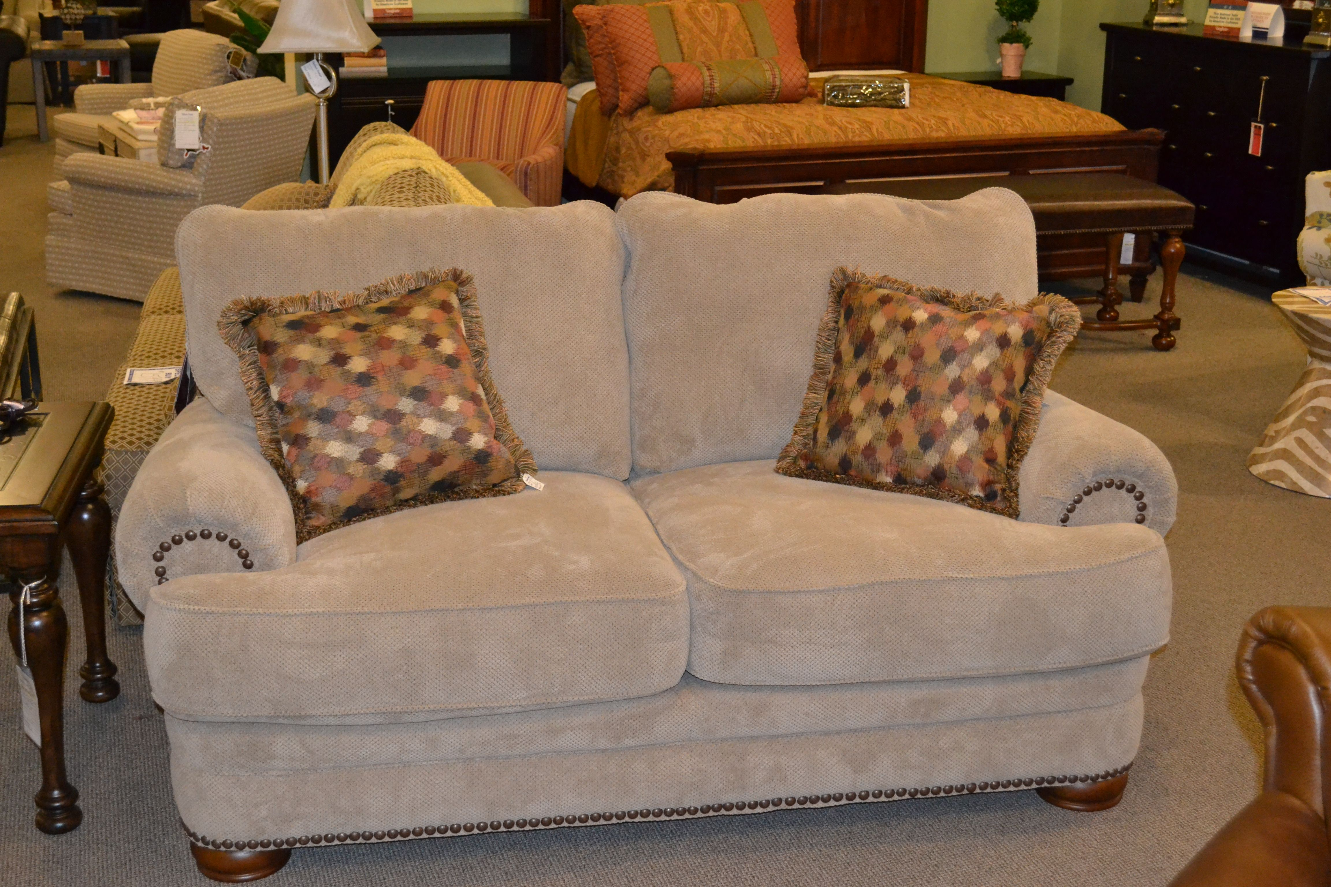 Lane Action Stationary Loveseat At Shubert Design In The Saintlouis Area Leather Bedroom Furniture Leather Furniture