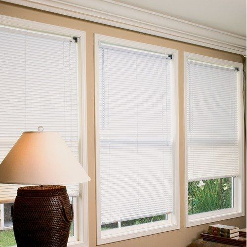 Radiance 1 Vinyl Mini Blinds In White Decor Walmart Com Vinyl Mini Blinds Blinds Mini Blinds
