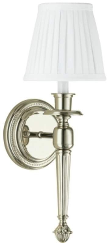 Robern Bathroom Sconces robern mllwfy single light wall sconce with white shade polished