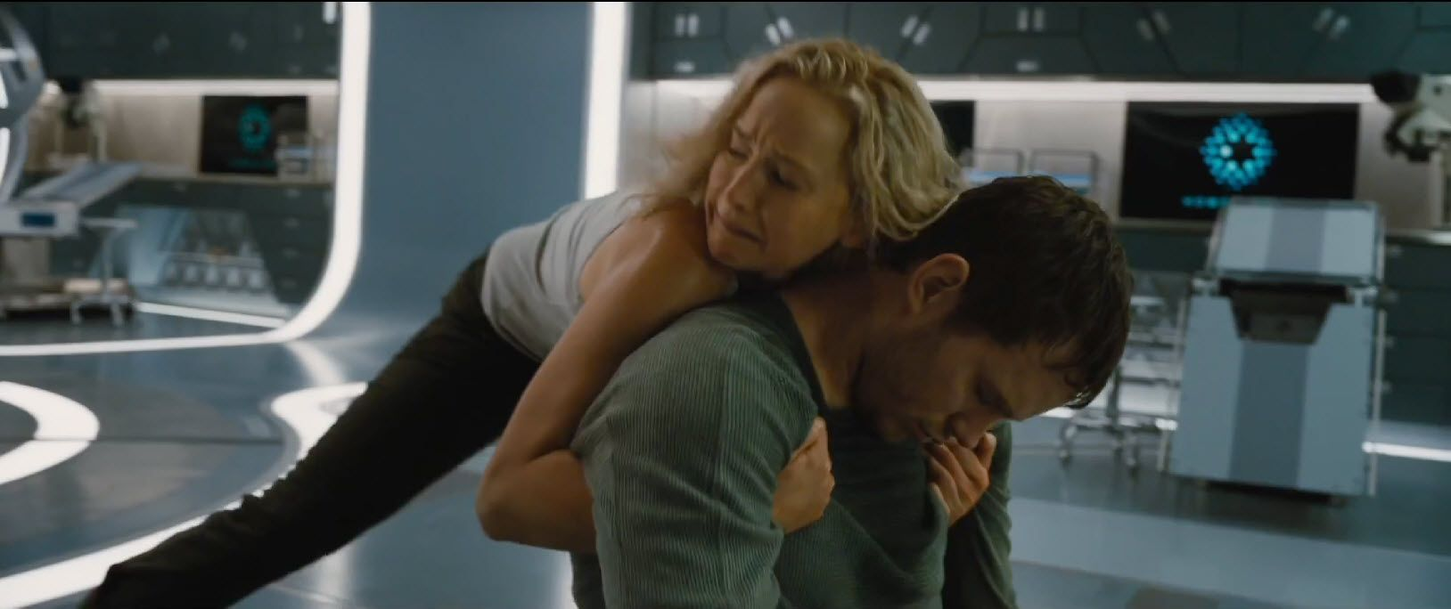 Passengers Trailer Lands Along With New Chris Pratt Jennifer Lawrence Images Jennifer Lawrence Images Passengers Movie Jennifer Lawrence