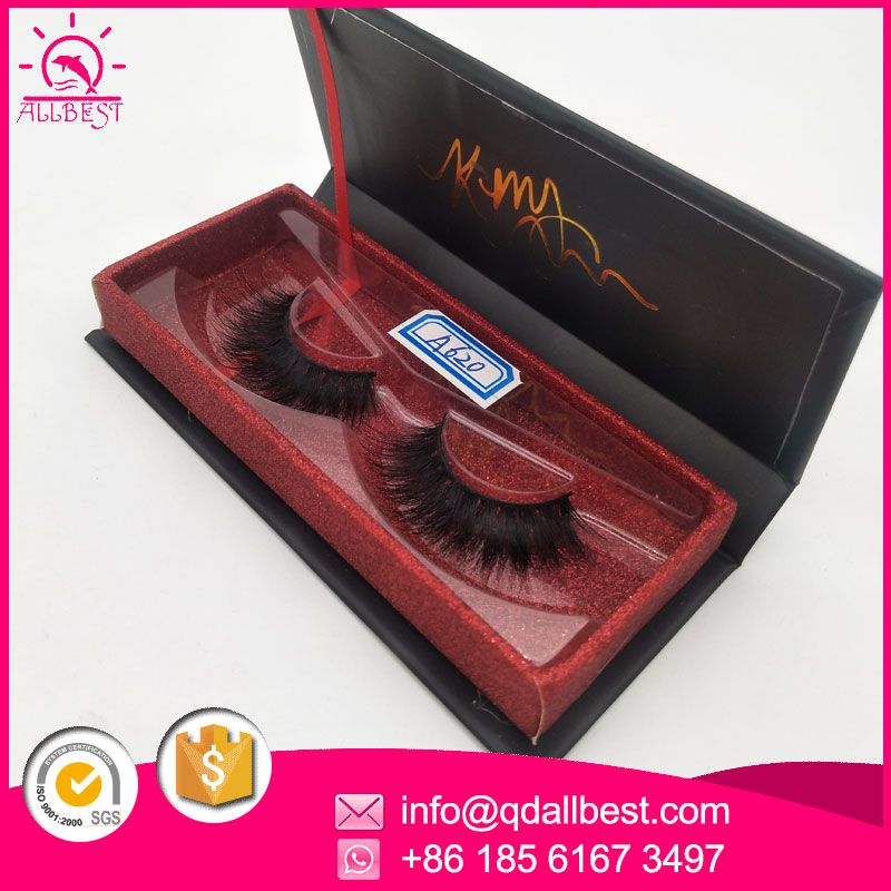 249d1de8650 custom eyelash box with red glitter inner box, WhatsApp:+86 18561673497