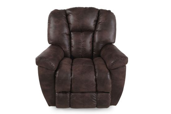 La Z Boy Maverick Sepia Rocker Recliner Recliner Living Room