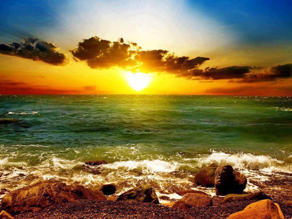Pin by Bruce Trimble on World Of Wonder Beach sunset