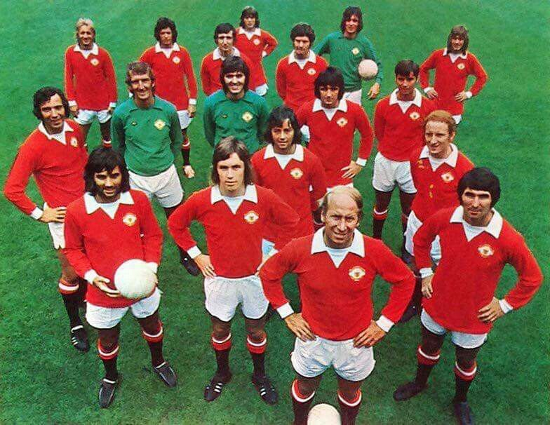 Manchester United From The 70 S Manchester United Legends Manchester United Fans Manchester United Players