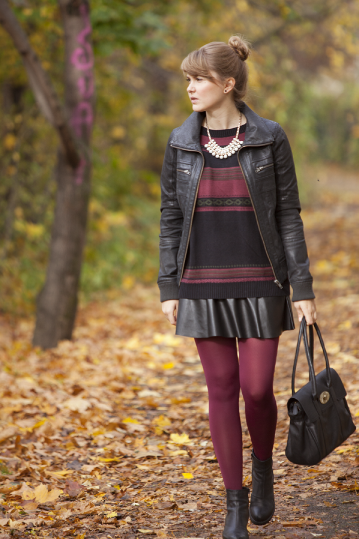 Bordeaux - fall look - outfit - fashion - style - look!