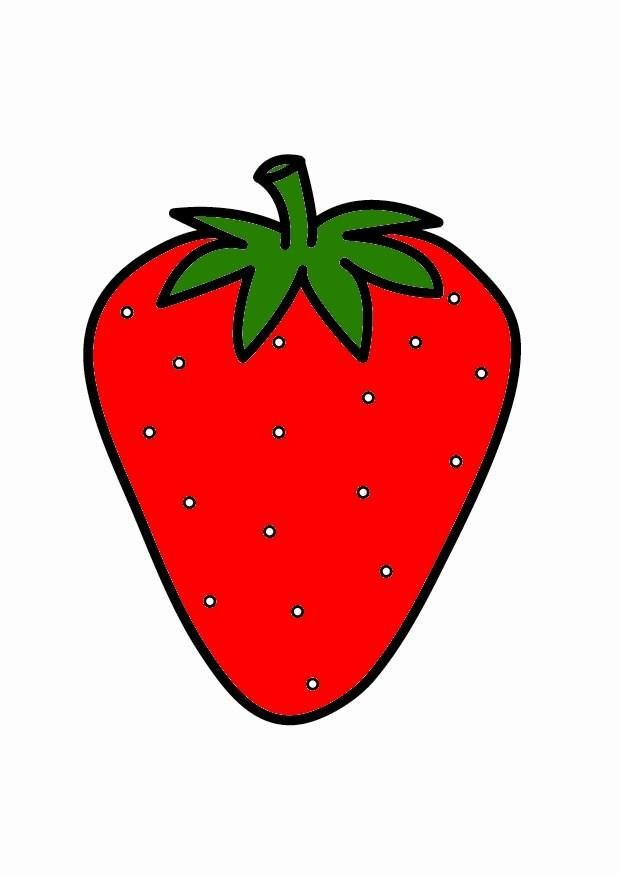 aardbeien tekening zoeken aardbeien knutselen