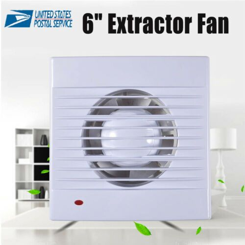 Details About 6 Ventilation Extractor Exhaust Fan Blower Window