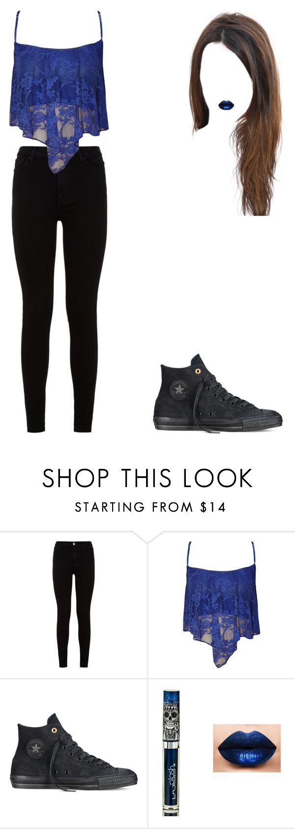 """""""Anastasia"""" by iggyazalea-ritaora ❤ liked on Polyvore featuring 7 For All Mankind, WearAll, Converse and cool"""