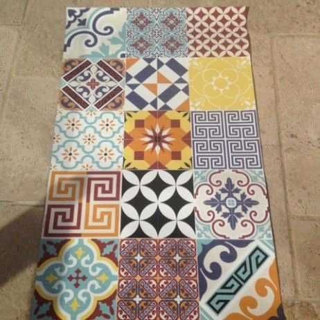 tapis carreaux de ciment castorama