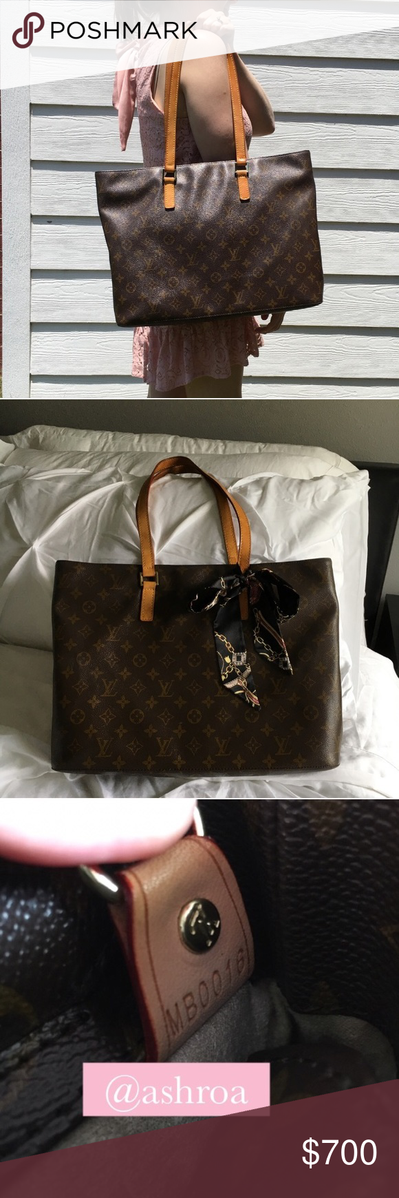 Louis Vuitton Luco Tote (Retired) This beautiful preloved Louis Vuitton Luco  is the perfect 057762aa9b6f6