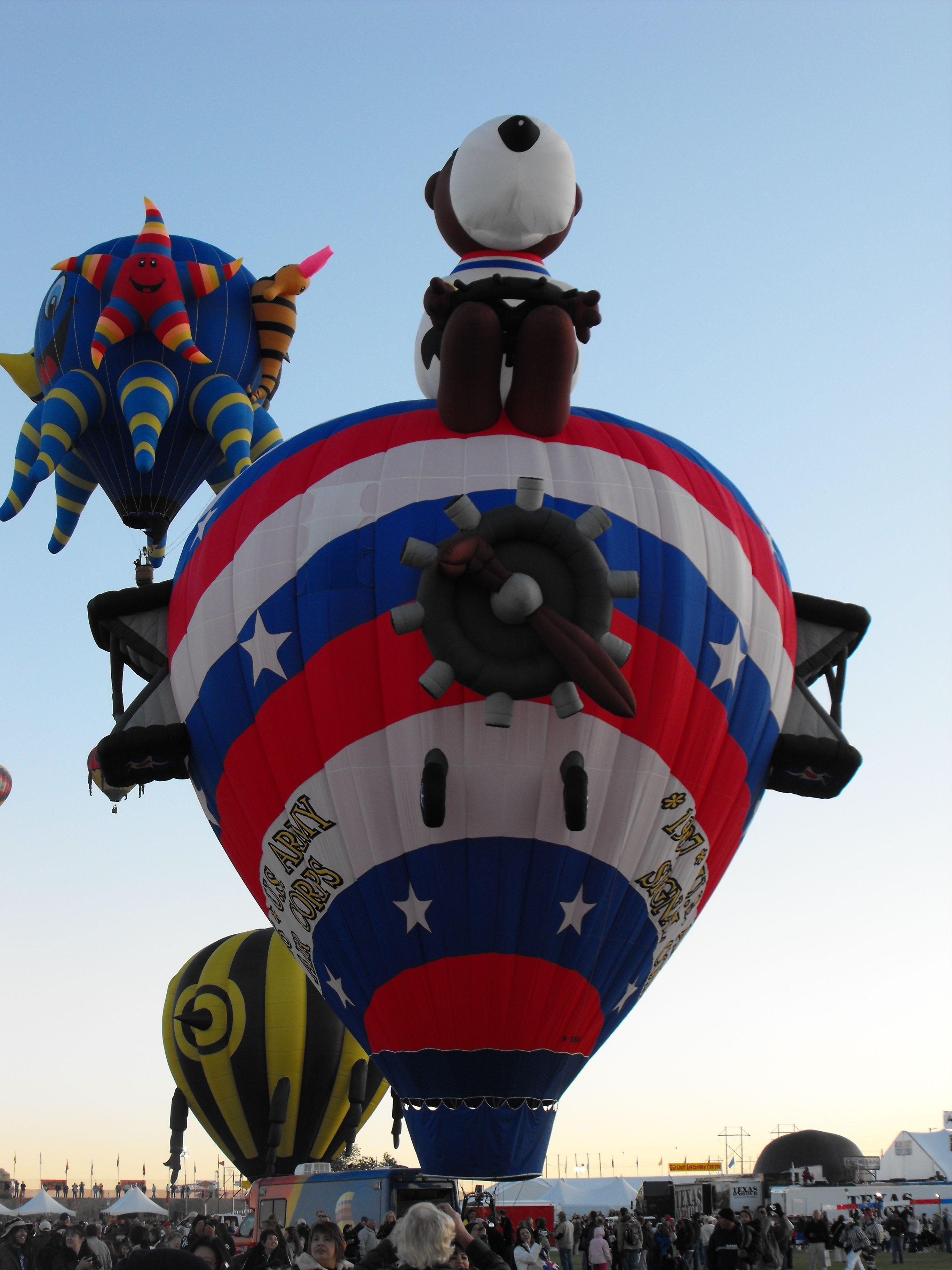 2009 Albuquerque Balloon Fiesta, Friday morning shaped