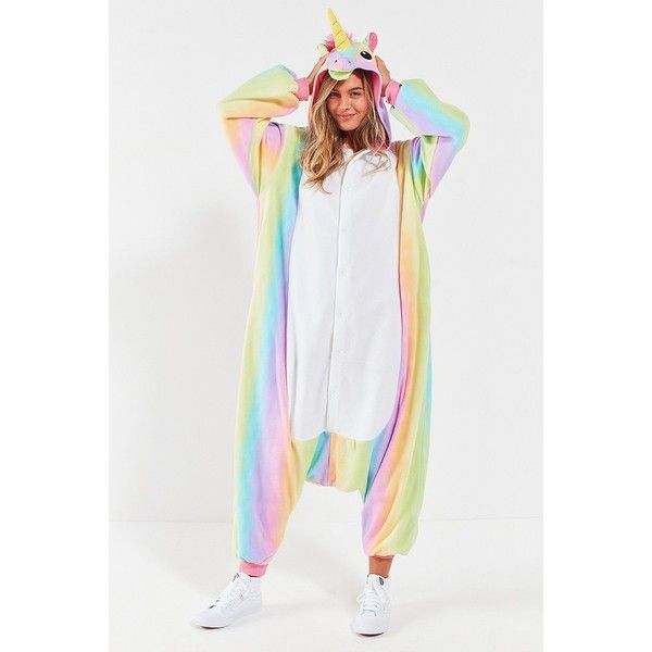 kigurumi dream unicorn costume 79 liked on polyvore featuring costumes rainbow costume