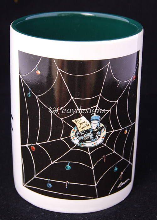 Far Side Christmas Spider Coffee Mug | Coffee Mugs | Pinterest ...