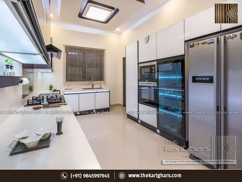 Luxury Modular Kitchen Design Services For Smart Households Interior Design Kitchen Residential Interior Design Kitchen Interior
