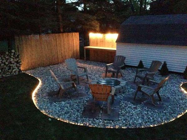 In The Warm Summer Evenings Most Of Us Like To Spend Quality Time With Family Or Friends In Our Yards Or Patios Backyard Fire Fire Pit Backyard Backyard Patio