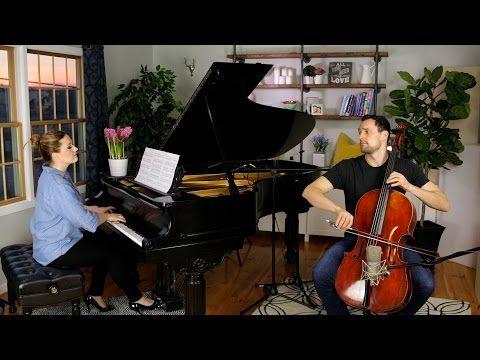 Blackbird - The Beatles (Cello + Piano Cover by Brooklyn Duo