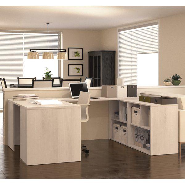 Luther 1 Piece U-Shaped Desk Office Suite