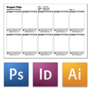 Project Storyboard Template   Google Search