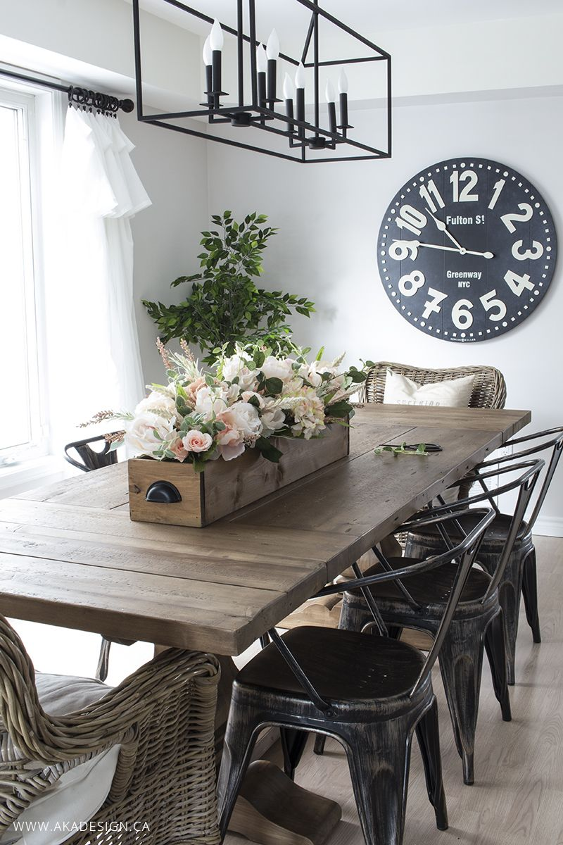 Whats New In Farmhouse Home Decor Vol 2 Farmhouse Dining Room Table