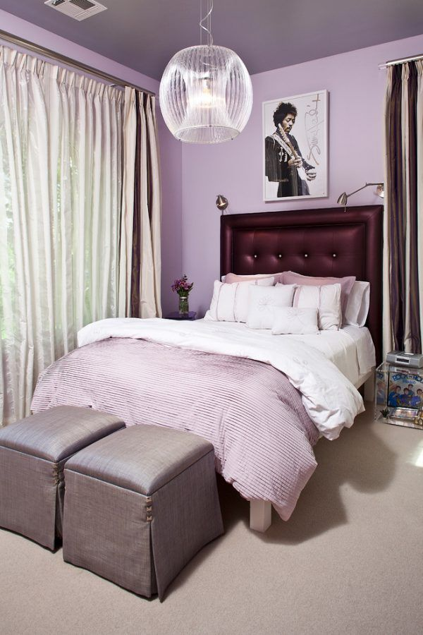 13 Most Wonderful Purple and Grey Bedroom Ideas That You ...