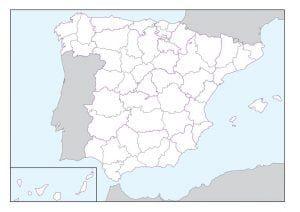 Mapas Fisicos Y Politicos De Espana Para Imprimir Mapa Fisico De
