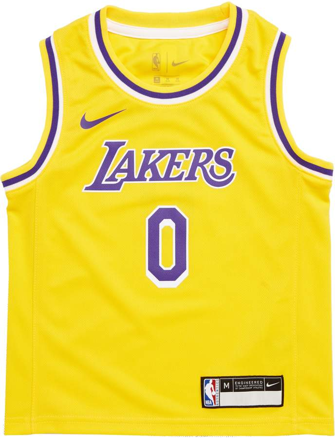 9527f7f91283 NBA LOGO Los Angeles Lakers Kyle Kuzma Basketball Jersey